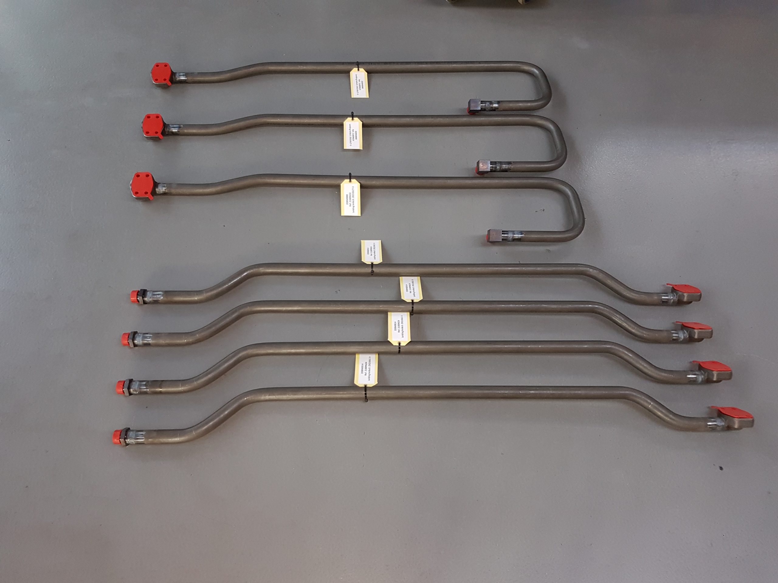 Arm pipe assembly's for Luyckx Belgium (ZX210LC-3 + ZX210LCT-3)